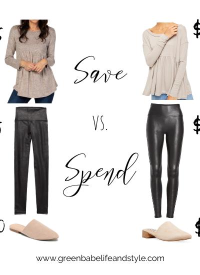 Save vs. Spend