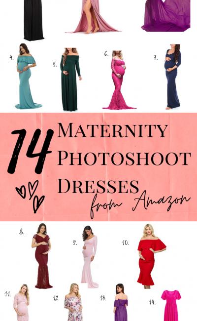 14 Maternity Photo Shoot Dresses from Amazon