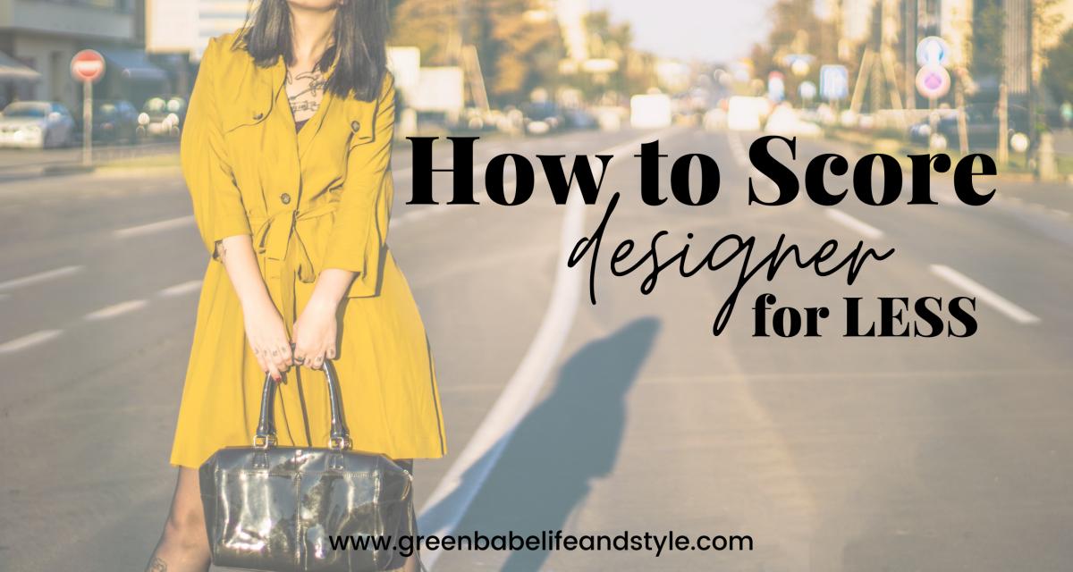 How to Score Designer for Less